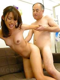 Old pecker for hot Anna Takizawa