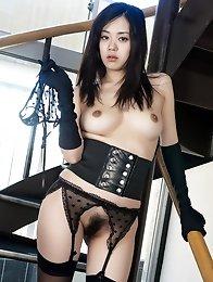 Japan Gravure Konata Suzumiya present fetish show