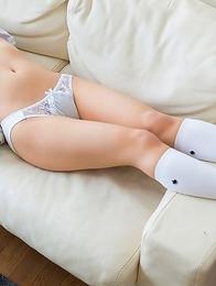 Sexy japanese schoolgirl Mari Rika